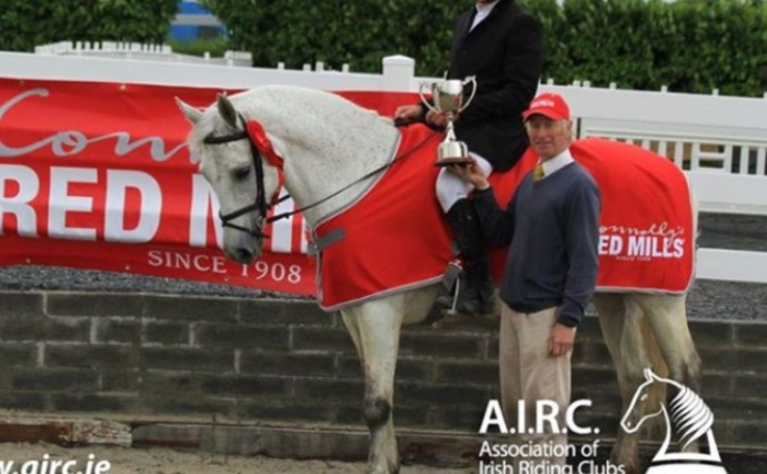 AIRC National Showjumping Championship victory for Pat O'Neill