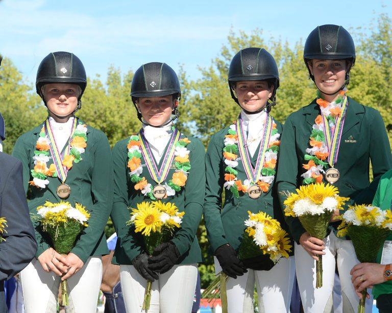 Connemara Ponies shine bright at FEI European Championships 2017