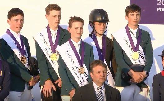 Ireland crowned U 16 European Show Jumping Champions